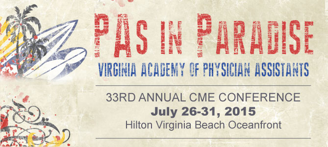 VAPA 2015 Summer CME Conference