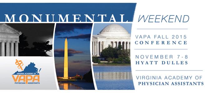 VAPA 2015 Fall CME Conference