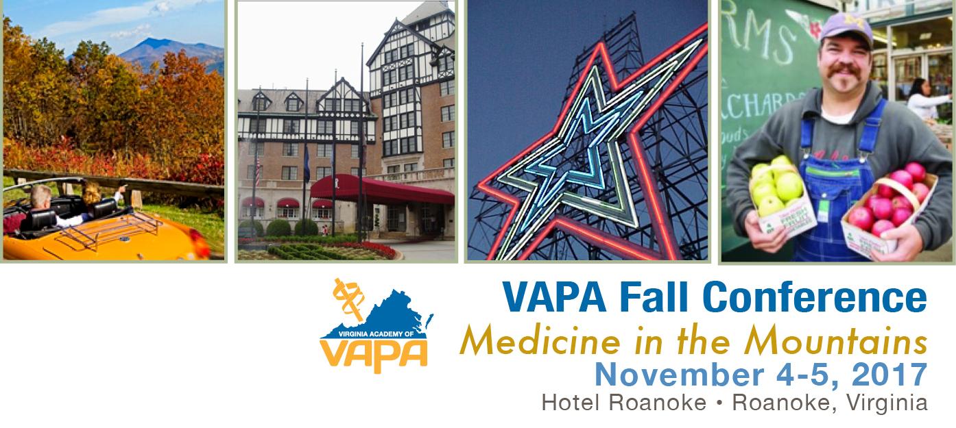 VAPA 2017 Fall CME Conference